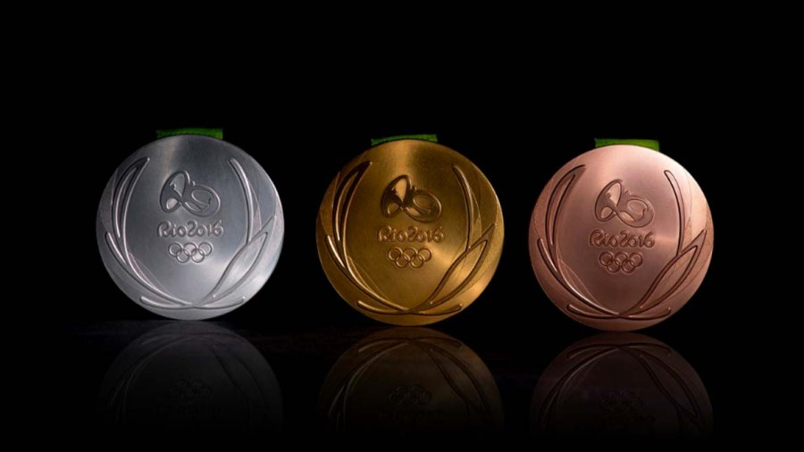 Olympics Medals Rio 2016 / Twitter @Rio2016