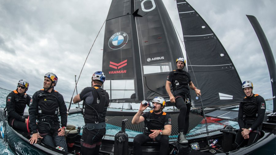 VIDEO: How ORACLE TEAM USA Is Training for the 2017 America's Cup