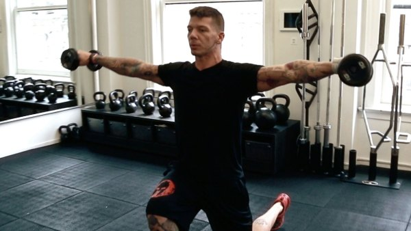 Full-Body Conditioning Workout With U.S. Air Force Veteran Rickie Osbun