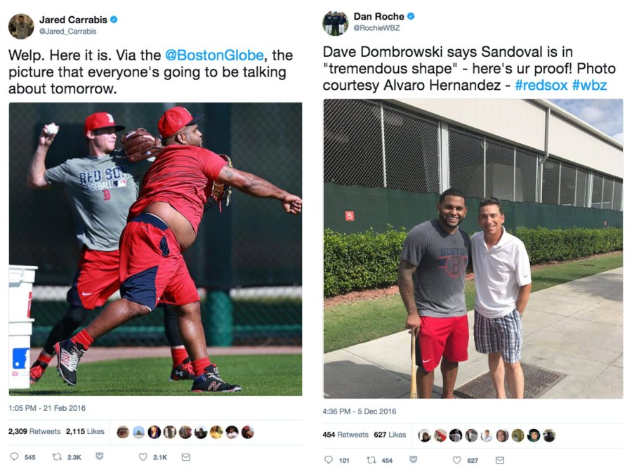 Pablo Sandoval weight loss