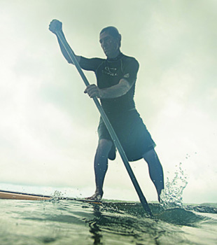 Ride a Wind-Powered Rush: Paddleboarding