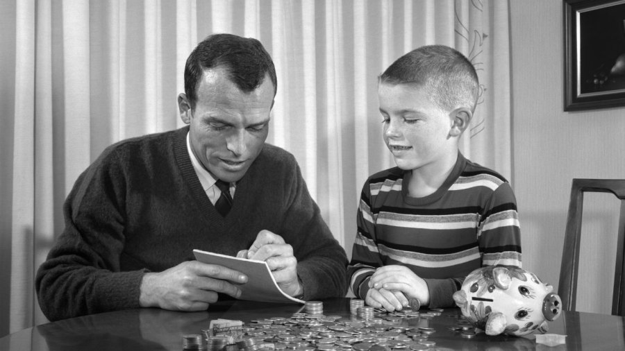 Teaching kid about money and finance