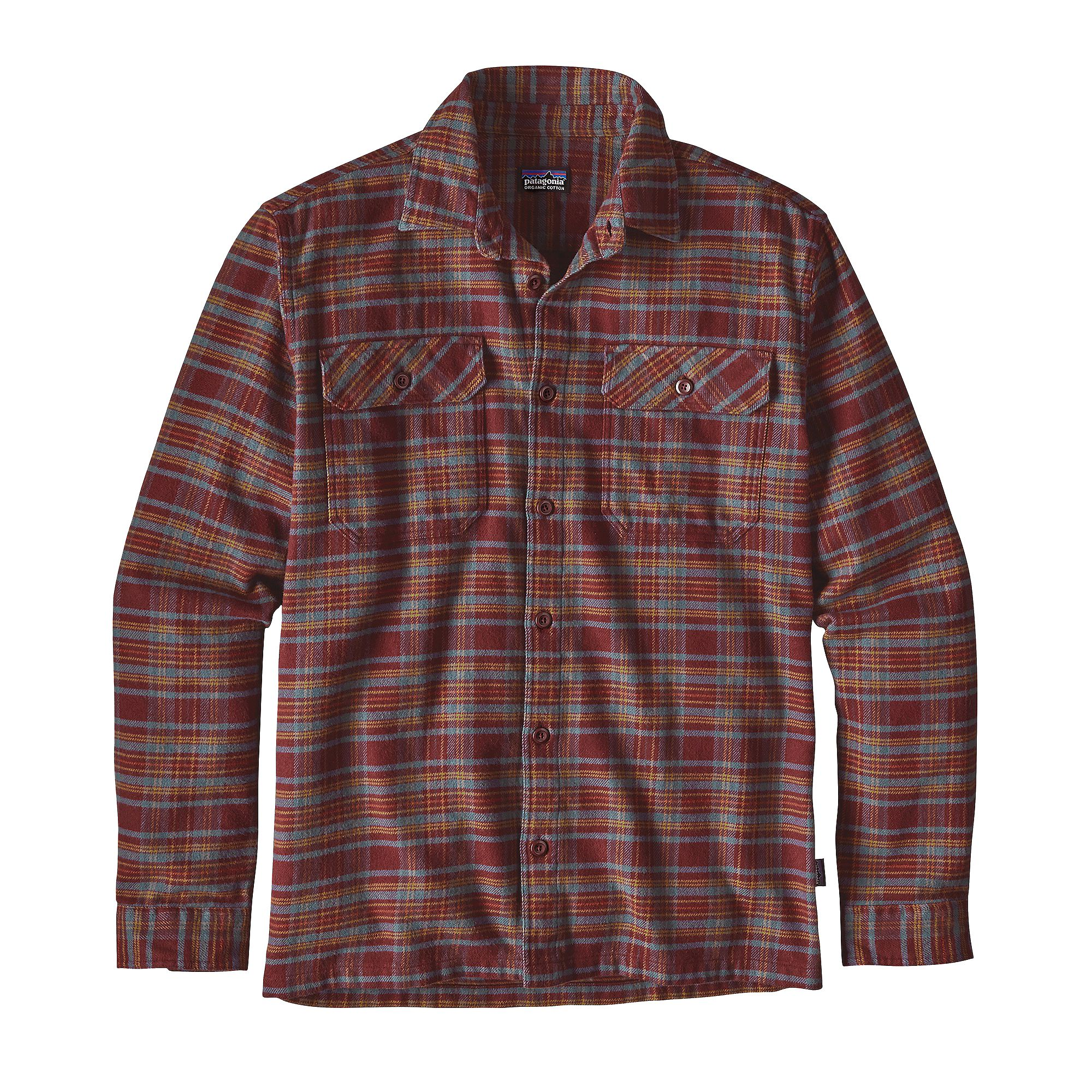 72f71fede050 Long Sleeve Fjord Flannel Shirt by Patagonia