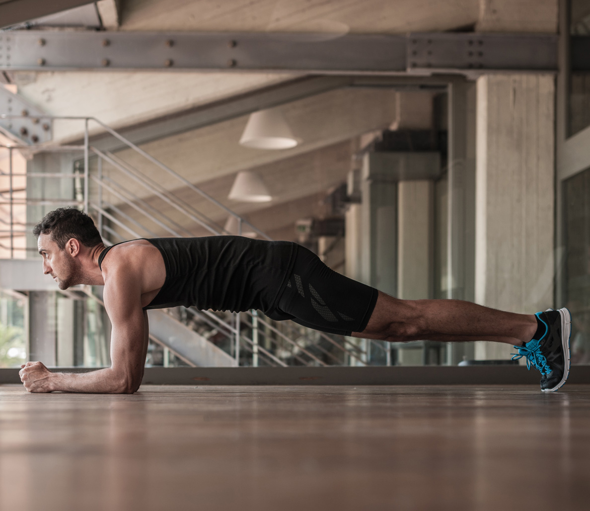 Do planks burn body fat