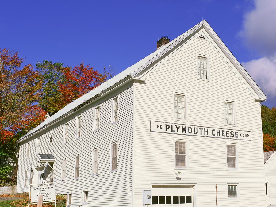 Plymouth Cheese Company In Vermont