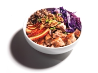 Pork, Apple, And Rice Bowl