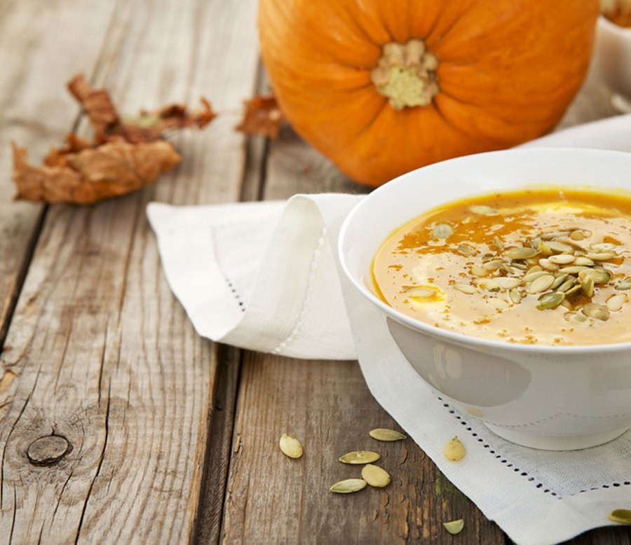 Pumpkin Soup with Chipotle