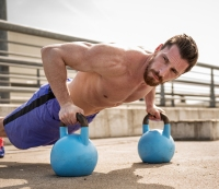 The 15-Second Kettlebell-Bodyweight Interval Workout