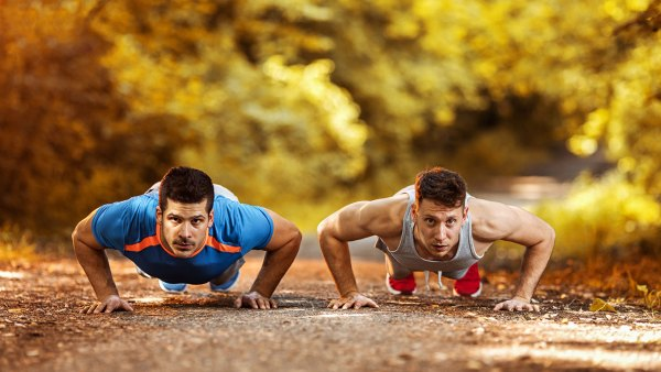 Pushup with Partner