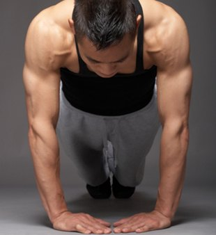 Pushups and Kettlebell Squat [VIDEO]