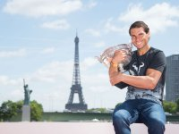 5. Rafael Nadal has 10 French Open titles—a historic feat
