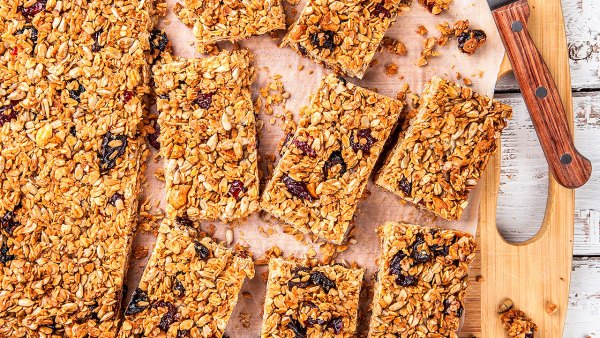 Real Fruit Homemade Protein Bars