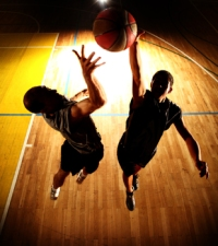 March Madness Training: the Box-Out, Rebound Body