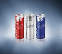 Three Supercharged Red Bull Mocktails