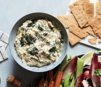 Greek Spinach and Artichoke Dip