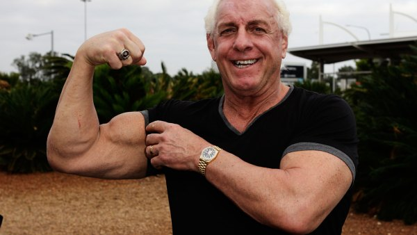 Watch Ric Flair move huge weight