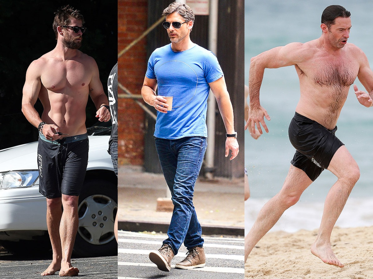 photos the 5 most impressively ripped australian actors of 2018