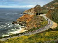 The Pacific Coast Highway In Northern California