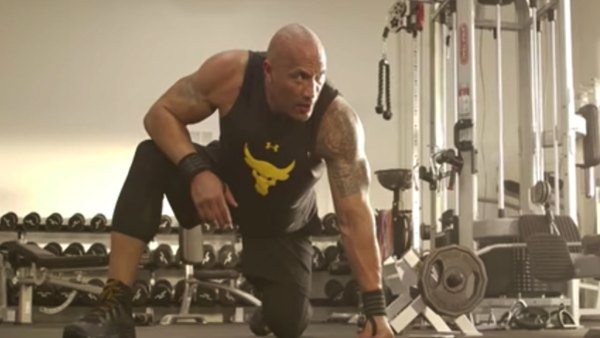The Rock ultimate workout