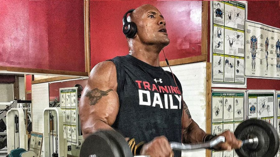You Need To Try This Dwayne Johnson Workout Men S Journal