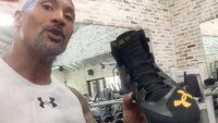 The Rock Signature Shoes / Instagram @therock