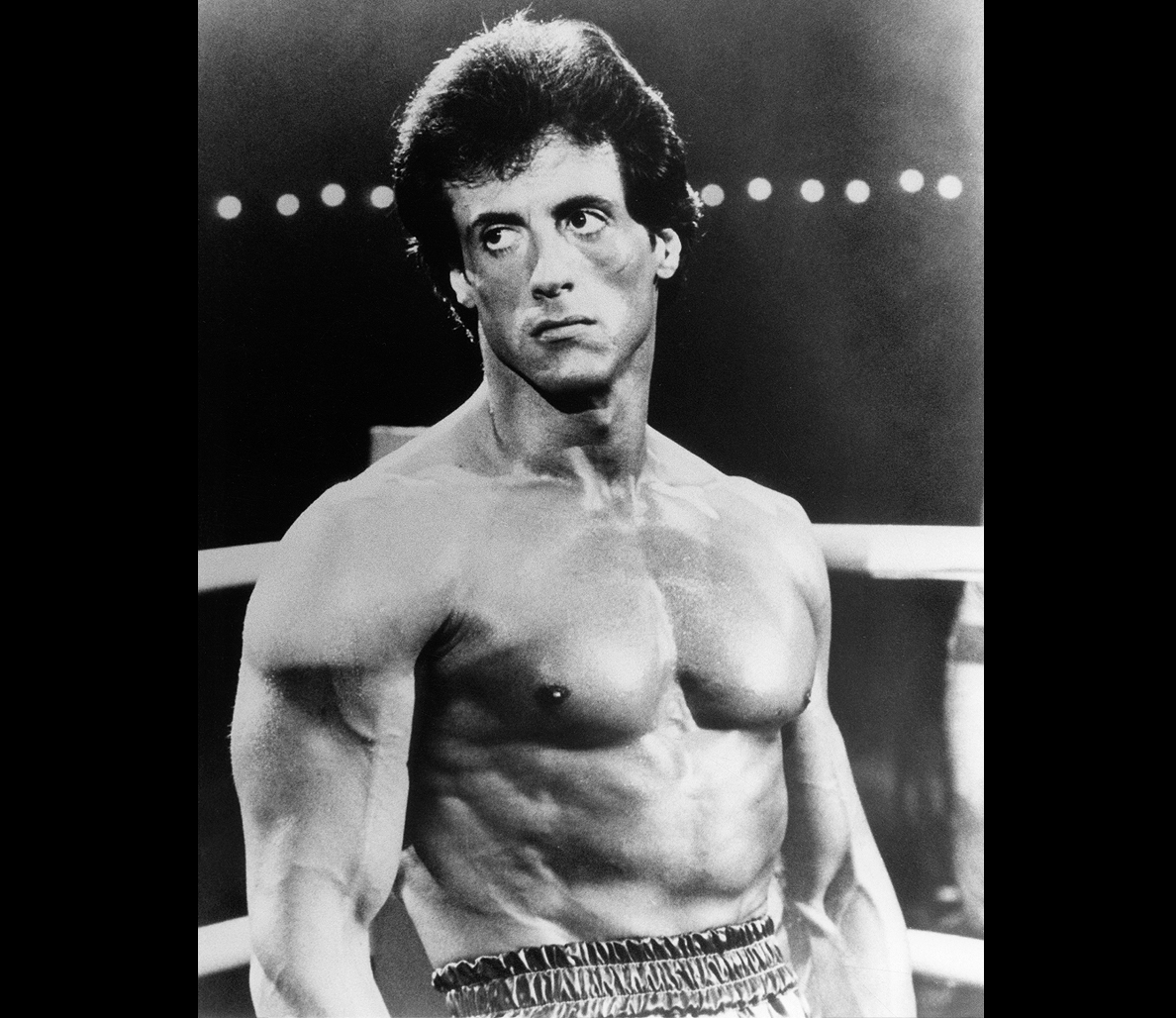 sylvester stallone releases never before seen rocky iv photos