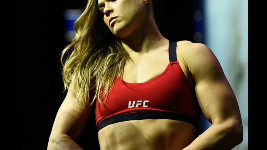 Ronda Rousey's 15 Most Shredded Moments From Her UFC 207 Training
