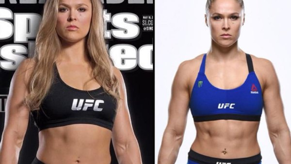 Ronda Rousey's body transformation for UFC 207