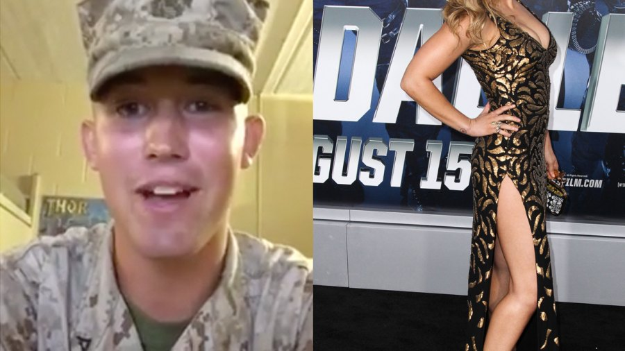 U.S. Marine Asks Ronda Rousey to Marine Corps Ball Through a Facebook Video—And She Said Yes.