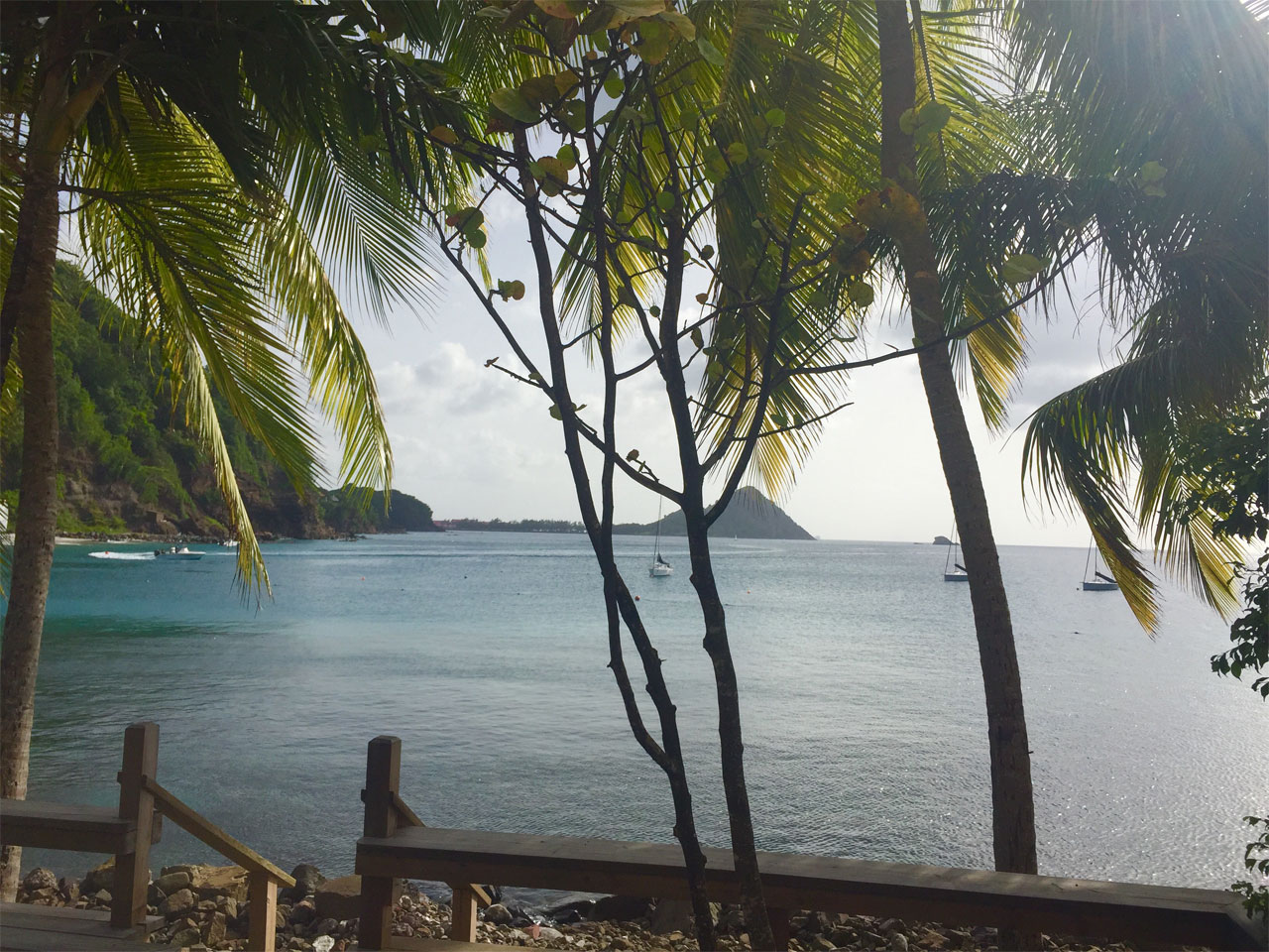 View out of room at BodyHoliday