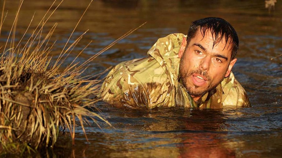 Ross Edgley Trains with the Royal Navy