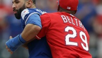 Watch: the Two Best Punches From the Toronto Blue Jays-Texas Rangers Brawl
