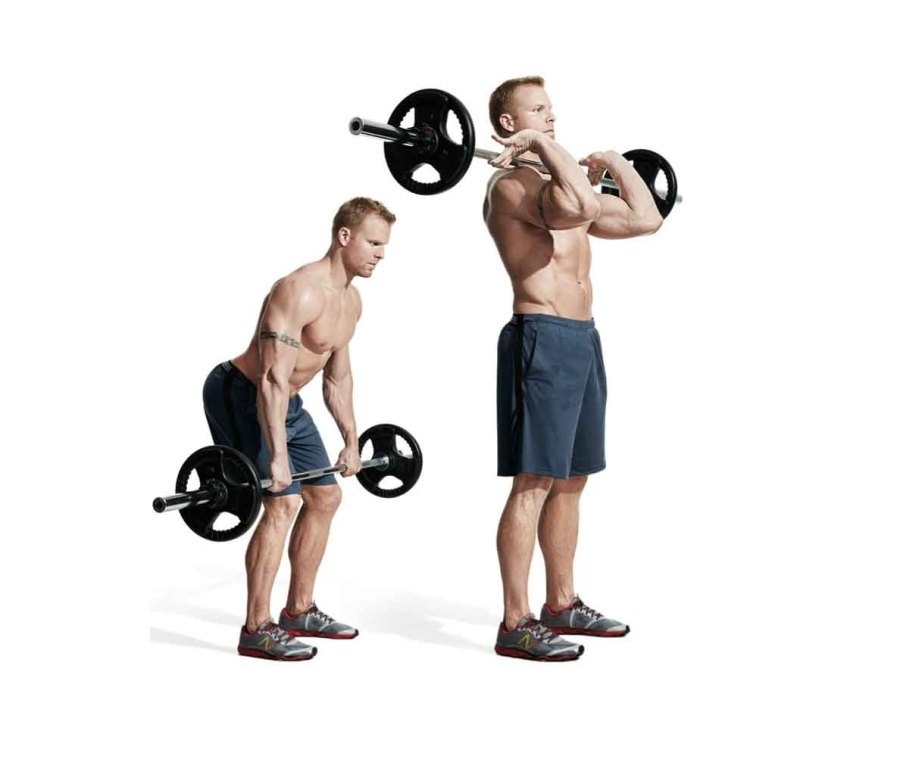 MOVE 4: Barbell Hang Clean