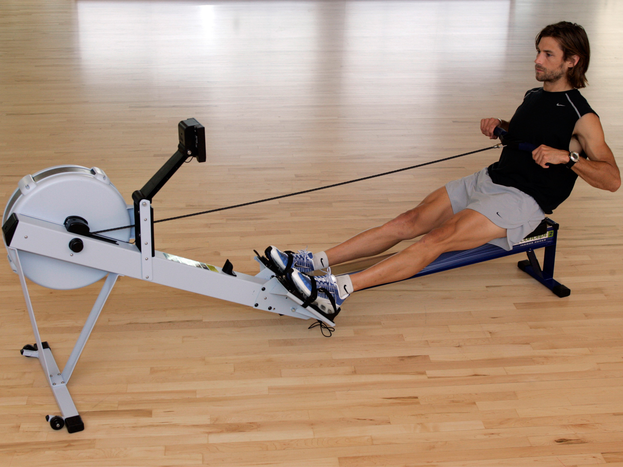 The ultimate guide to the rowing machine quite literally the finish of the stroke after completing the stroke sequence you should be sitting with your legs flat shoulders behind your hips fandeluxe Gallery