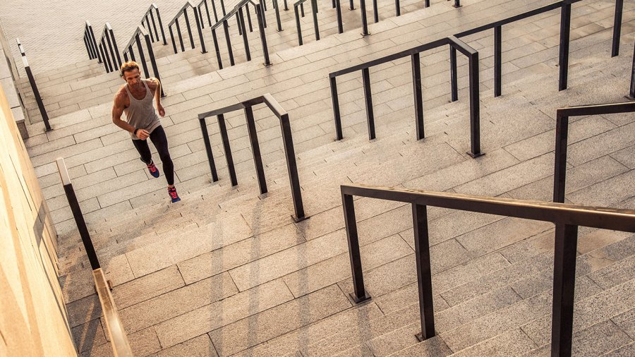 Running On Steps