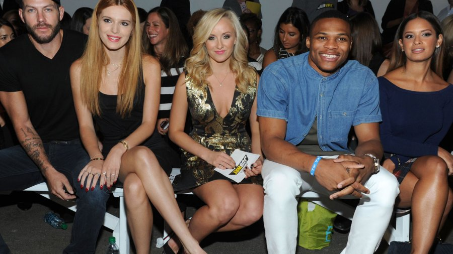 Russell Westbrook at NYFW