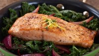 Salmon and Kale