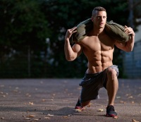 Three Muscle-Building Sandbag Moves You Can Do Anywhere