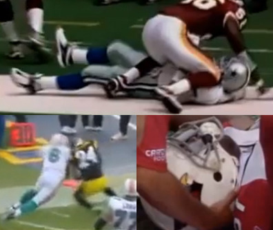 The NFL's Scariest Hits of the Millennium