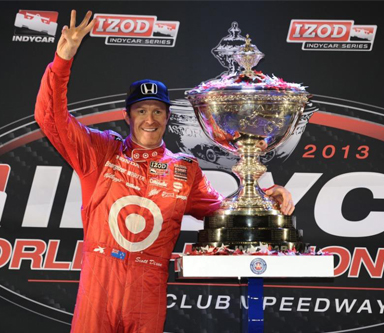 Five Minutes With Three-Time IndyCar Champion Scott Dixon