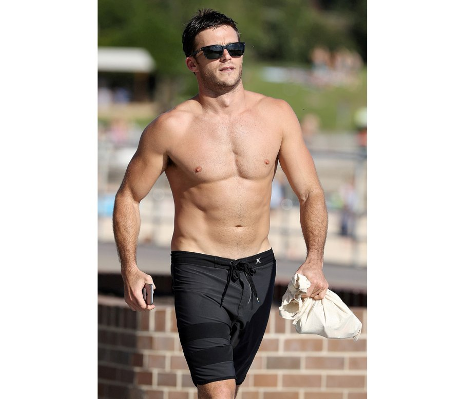Scott Eastwood Looks Ripped at the Beach