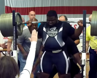USAPL COMPETITOR RAY WILLIAMS SETS RECORD, SQUATS 905 POUNDS