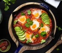 Muscle-Building Food: How to Cook Southwest Shakshuka for Dinner