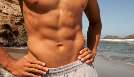 how to lose chest fat fast male