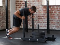 Man pushing prowler