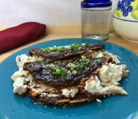 26. Recipe: Chicken Enchiladas with Chocolate Mole Sauce