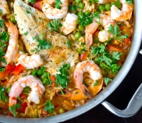 Recipe: Shrimp Paella