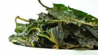 Sea Salt and Lime Spinach Chips