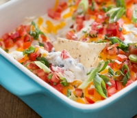 27. Recipe: Chicken Nacho Dip