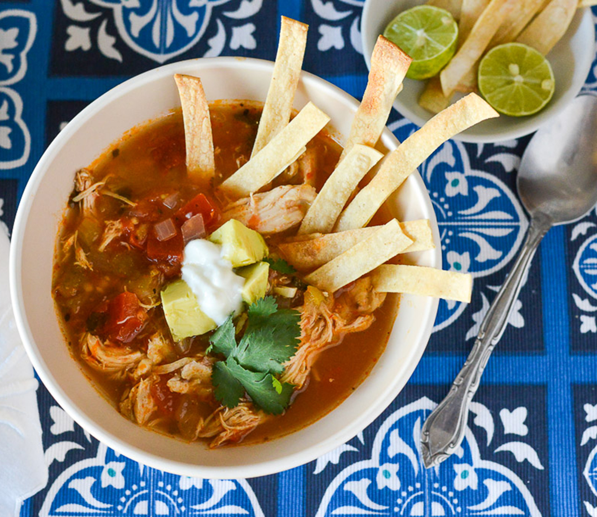 Chicken recipes 50 things you can do with rotisserie chicken recipe quick tortilla soup forumfinder Choice Image